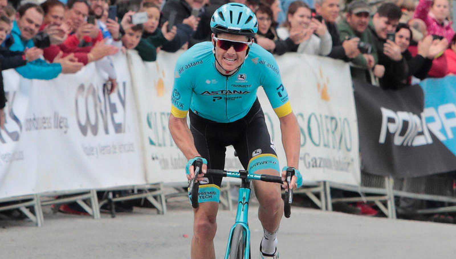 El danés Jakob Fuglsang (Astaná), en la pasada Vuelta a Andalucía.