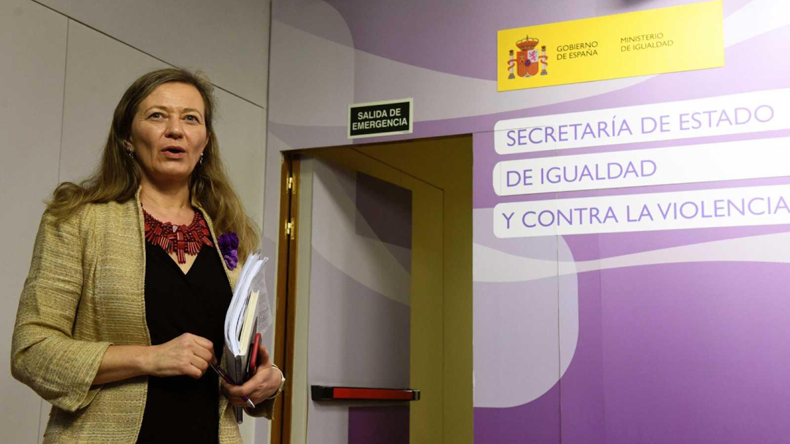 La delegada del Gobierno contra la Violencia de Género, Victoria Rosell