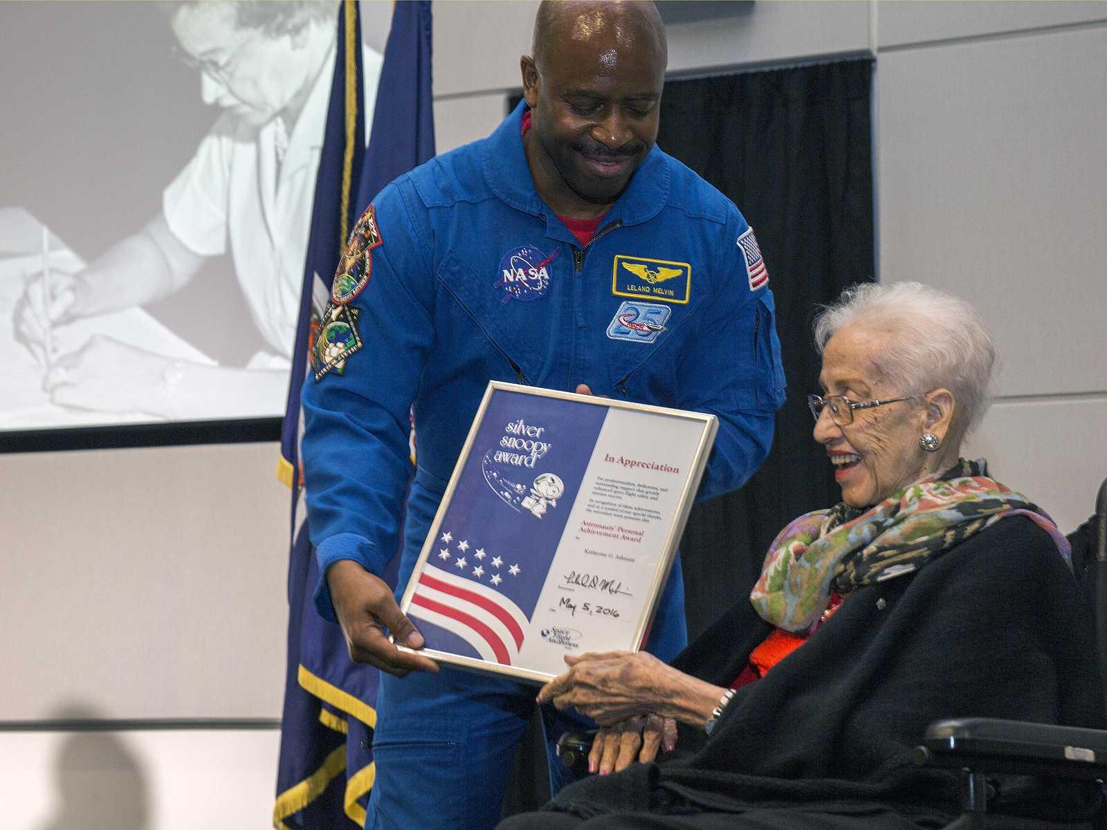 Katherine Johnson, primera mujer en la NASA