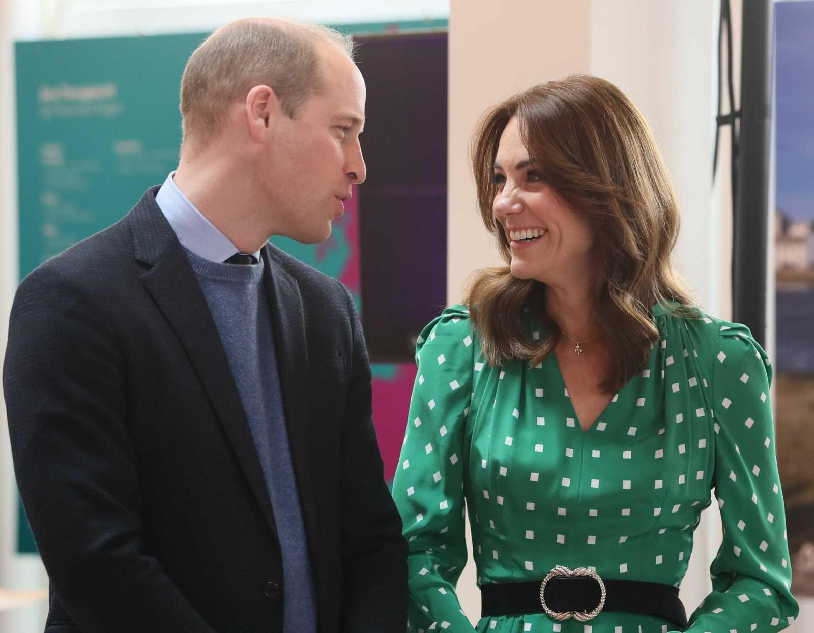 Los Duques de Cambridge en su visita a Irlanda