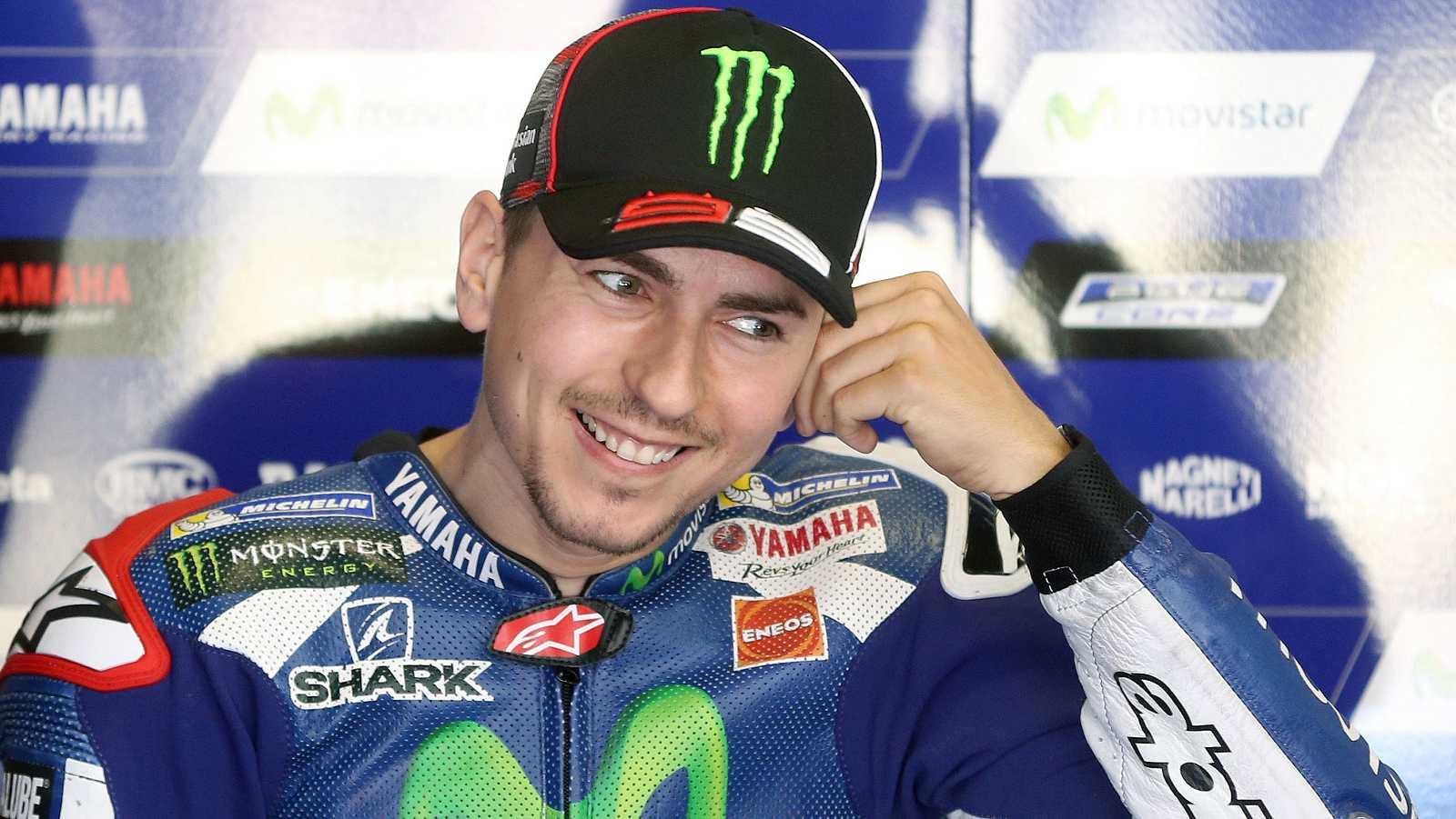 Jorge Lorenzo en el Gran Premio de Catalunya de MotoGP