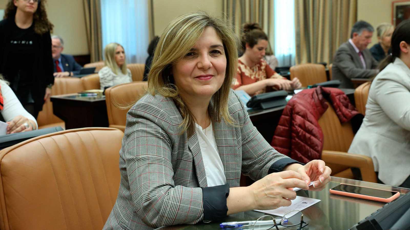 La presidenta de la Comisión de Igualdad del Congreso de los Diputados, Pilar Cancela.
