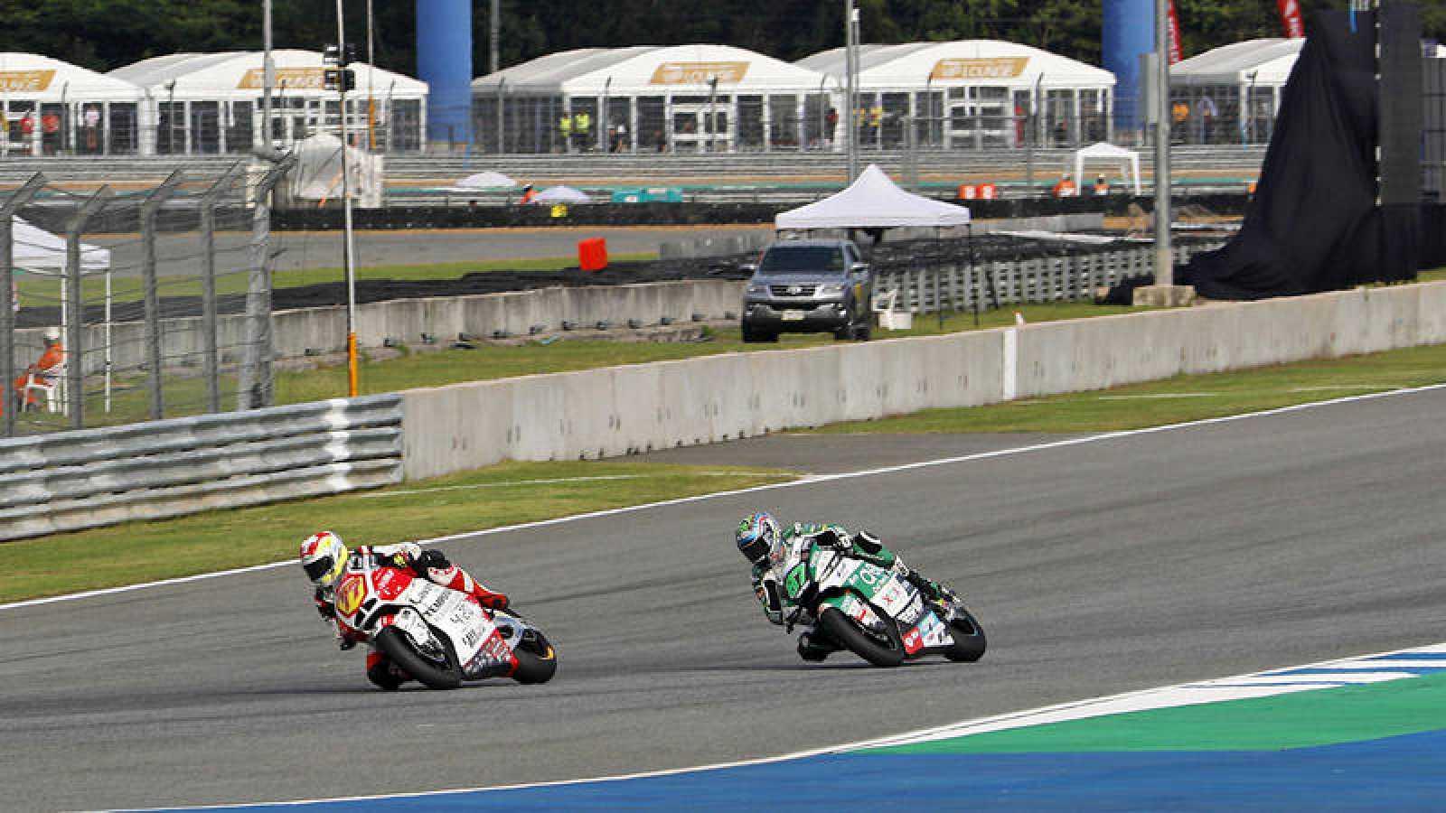 Imagen del GP de Tailandia de Moto2 del año pasado