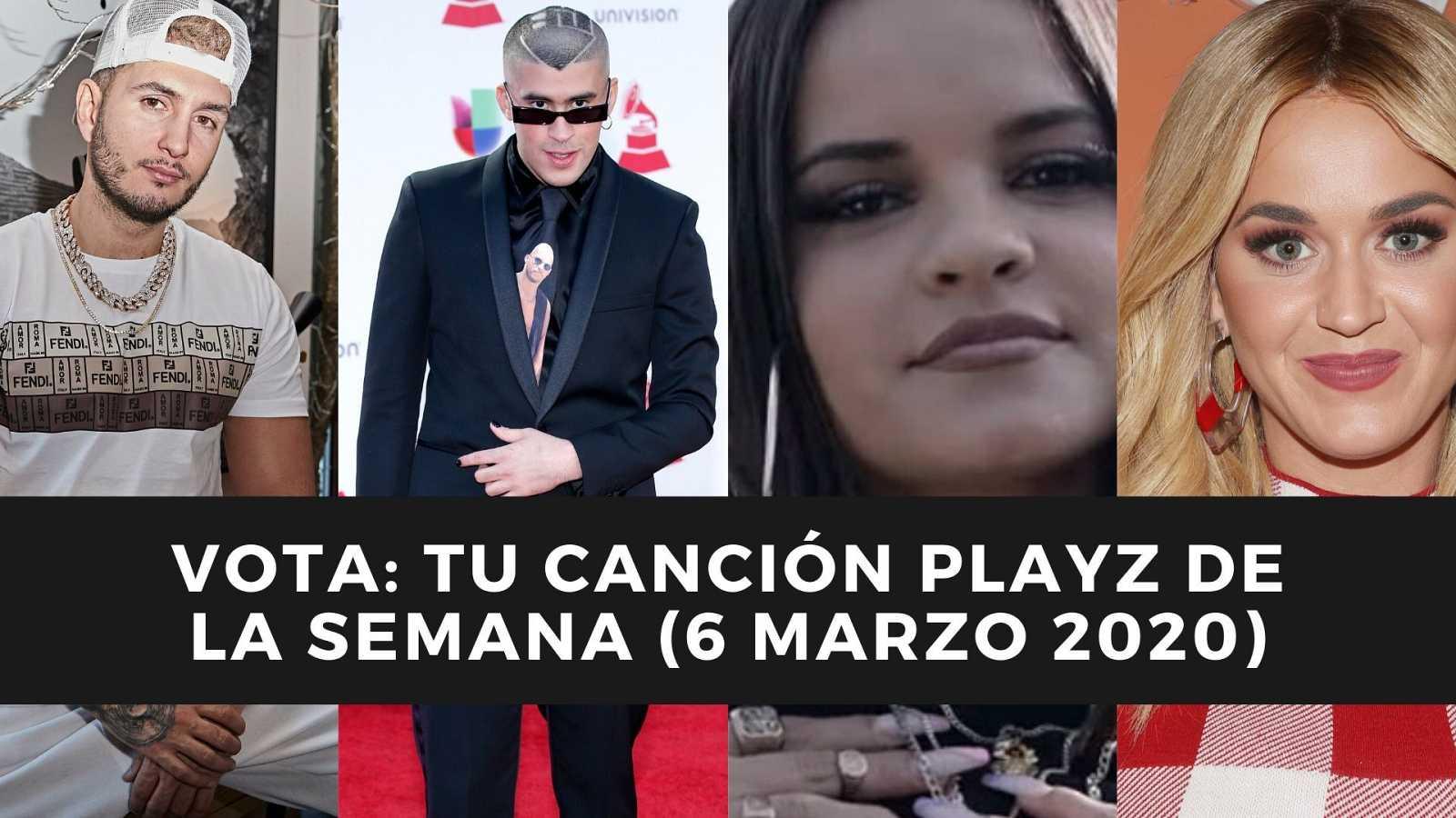 Repasamos las nuevas canciones de Aleesha, Katy Perry, Bad Bunny, Omar Montes, entre otros