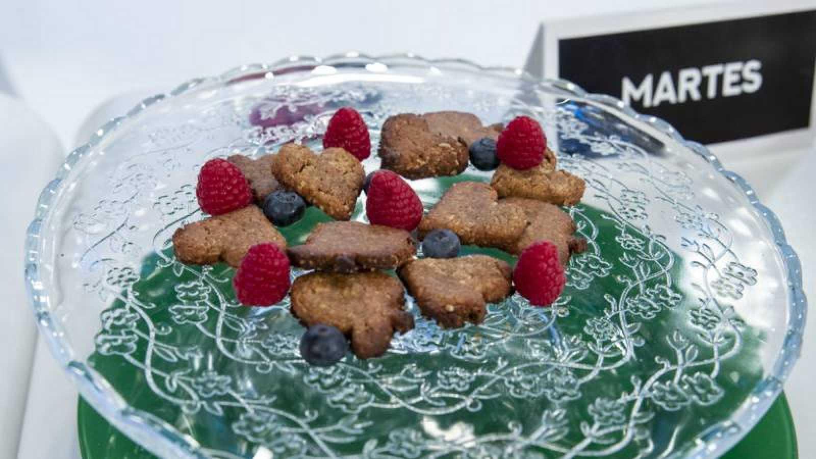 Pastas de avellanas con crema de cacao saludable