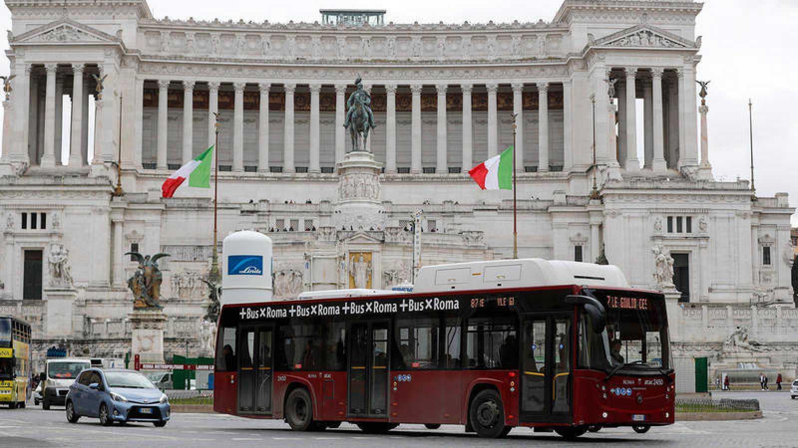 La plaza Venecia de Roma