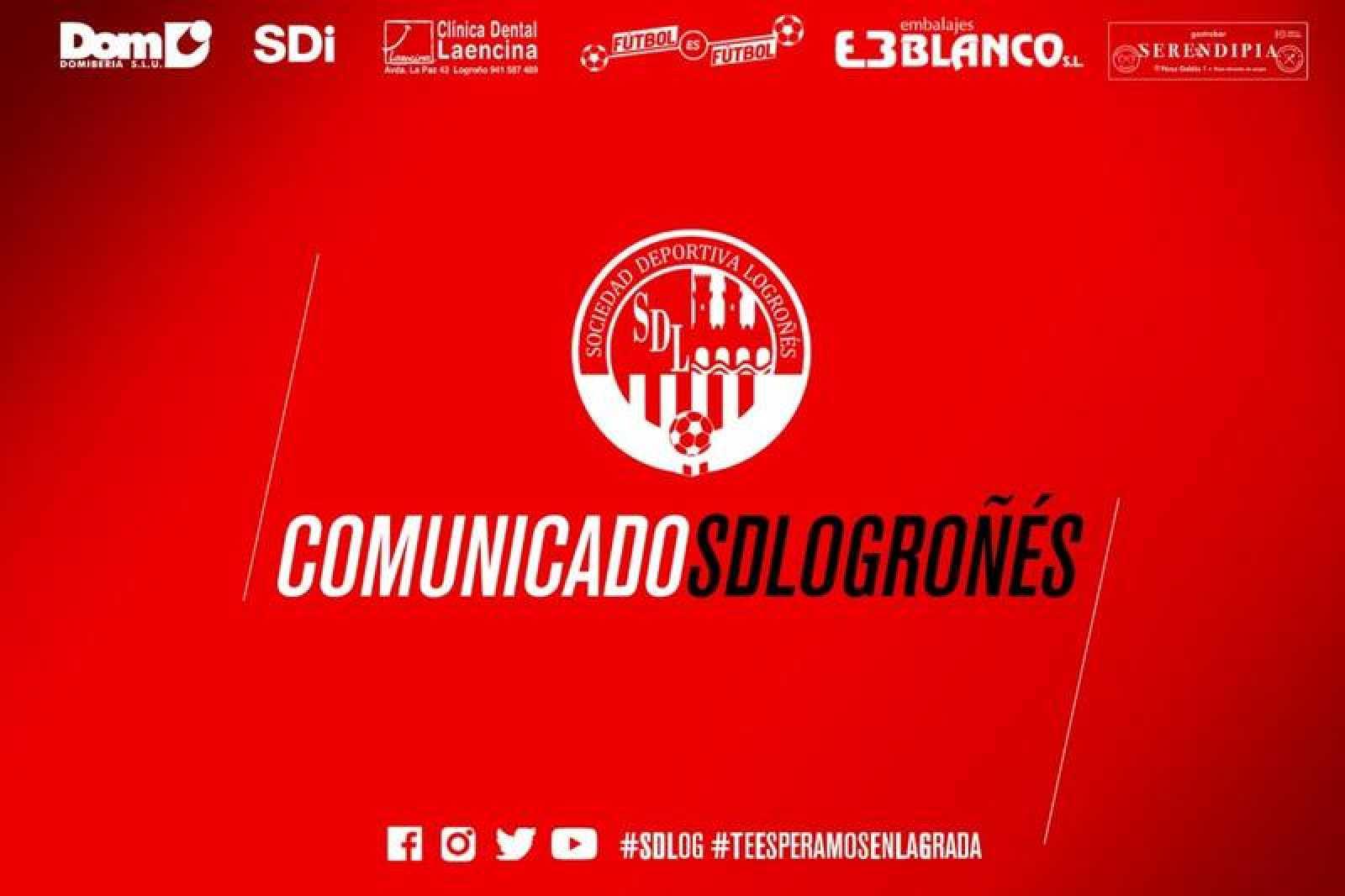 La SD Logroñés ha emitido un comunicado de repulsa a la presunta agresión sexual.