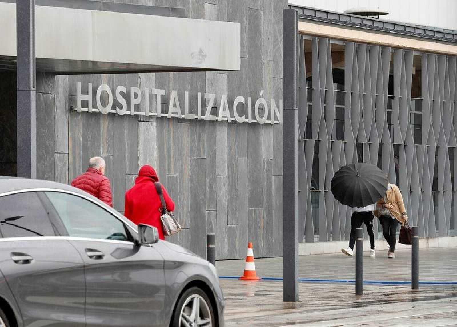 Imagen de un hospital en España.