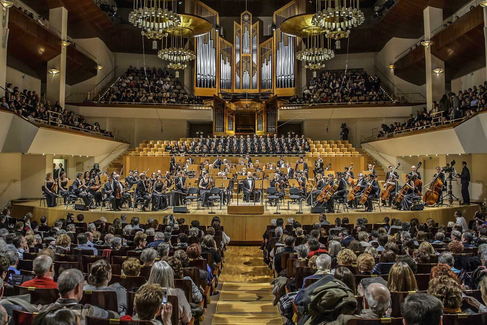 La Orquesta Sinfónica y Coro RTVE en el Auditorio Nacional de Música de Madrid
