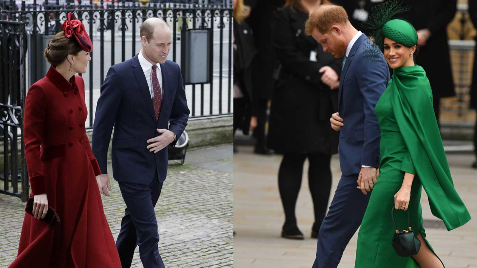 La familia real británica se reúne en Westminster con motivo del día de la Commonwealth