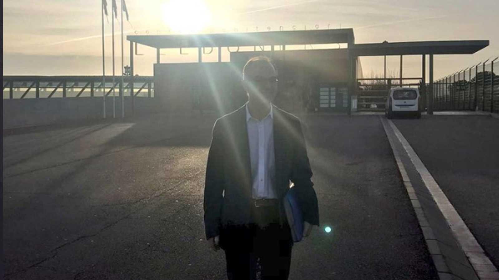 Jordi Turull sale de prisión para trabajar en un despacho de abogados