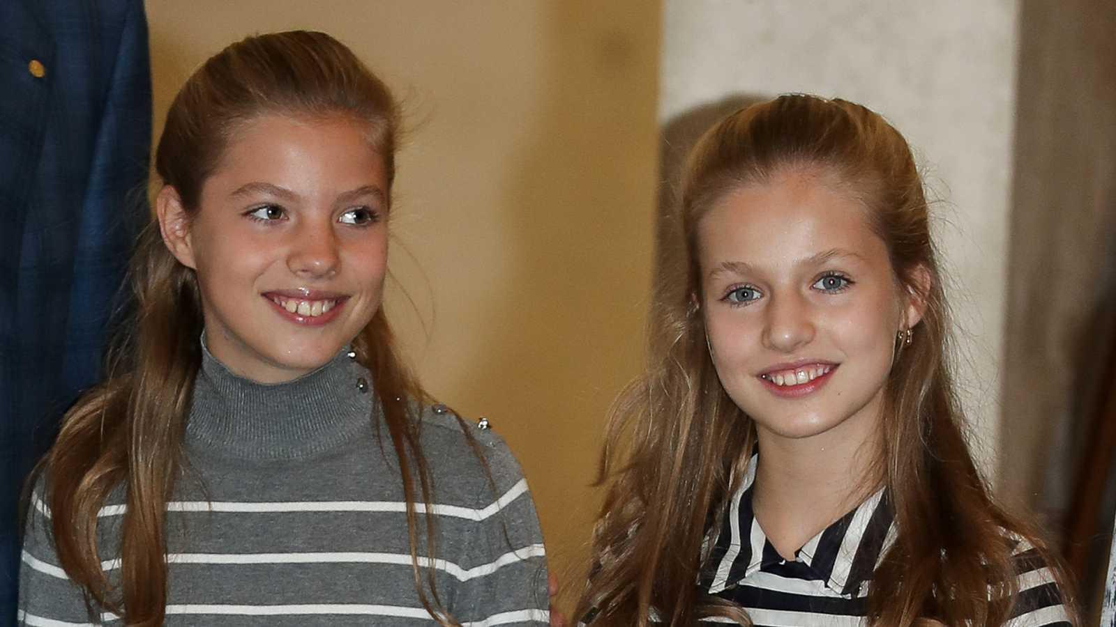 Corazón - La princesa Leonor y la infanta Sofía acuden hoy al que será su último día de clase
