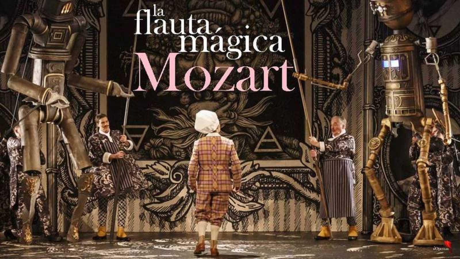 'La flauta mágica' de Mozart, en una producción del Festival de Glyndebourne