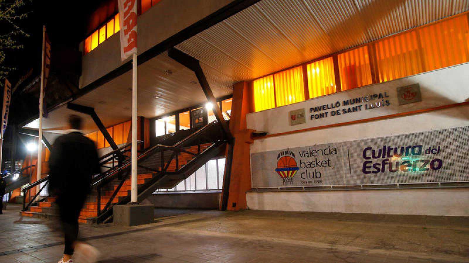El Valencia Basket - Olimpia Milano, a puerta cerrada.