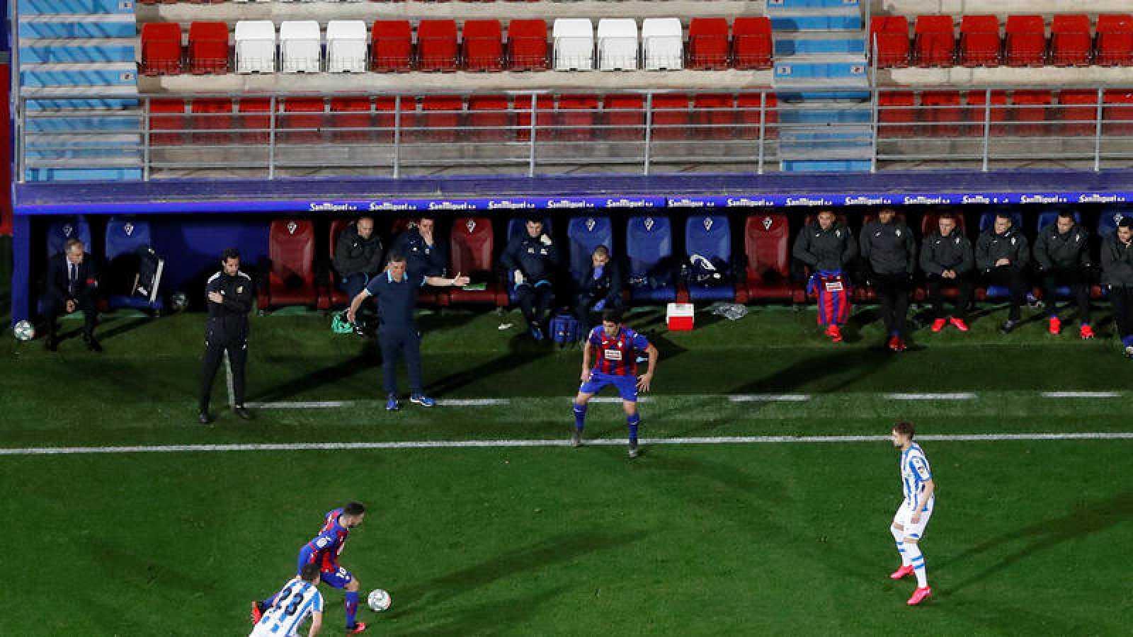Imagen del Eibar - Real Sociedad, en Ipurua.