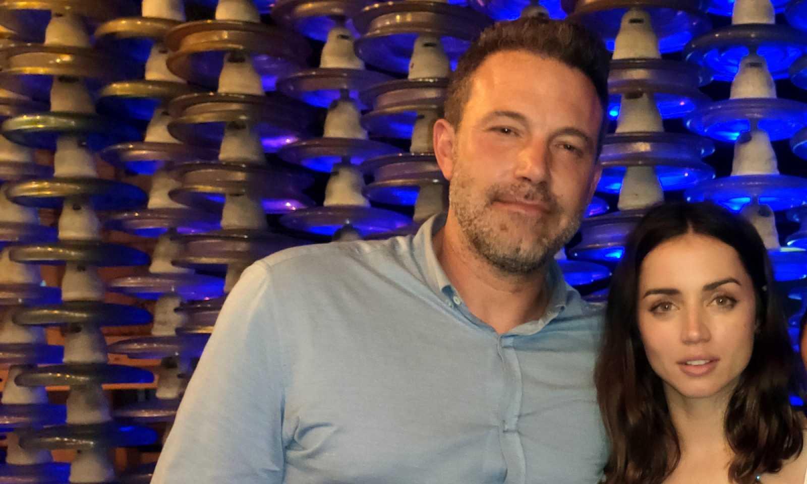 ¡Ben Affleck y Ana de Armas, juntos!
