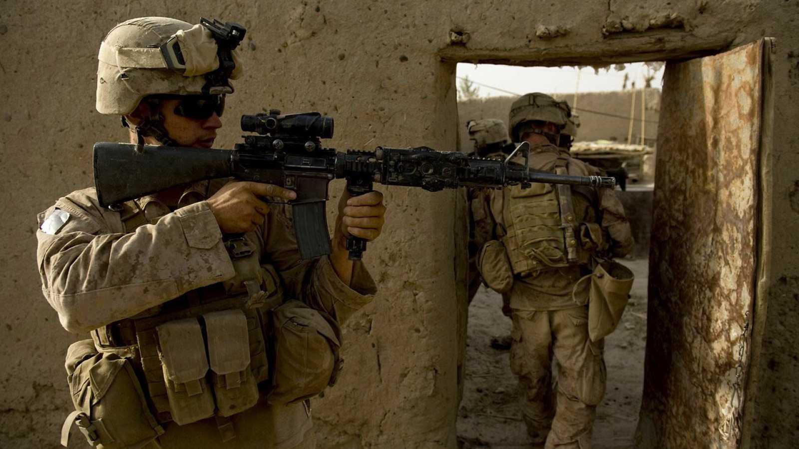 Imagen de archivo de soldados estadounidenses