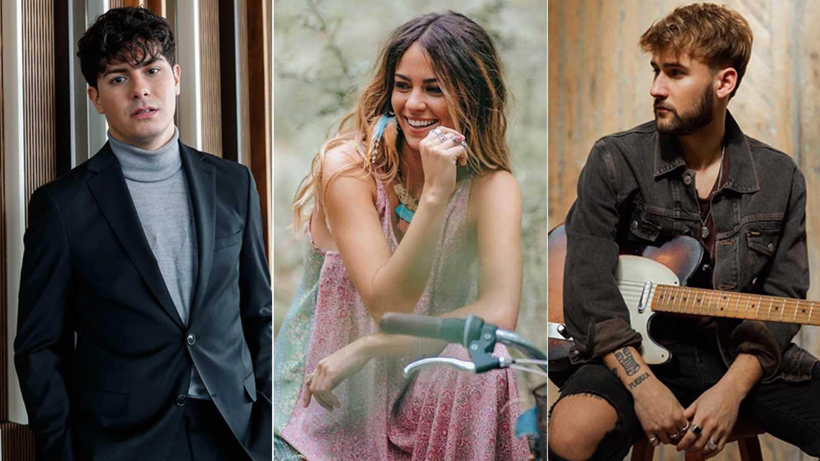 Alfred García, Sofía Ellar y Dani Fernández actuarán en sus cuentas de Instagram
