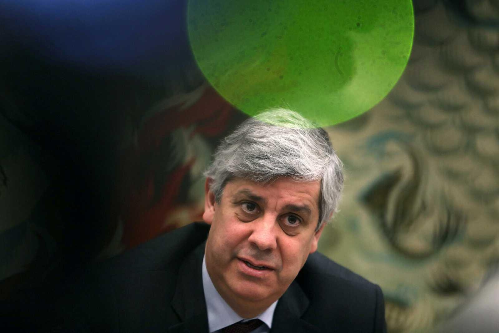 El ministro de Finanzas de Portugal y presidente del Eurogrupo, Mário Centeno