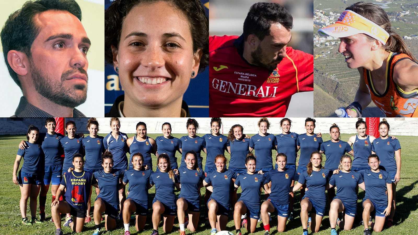 Más deportistas se suman al reto #QuédateEnCasa con Teledeporte