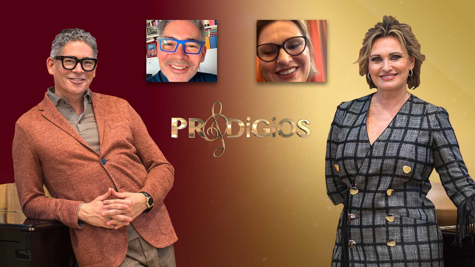 Boris Izaguirre y Ainhoa Arteta charlan en el canal de IGTV de RTVE