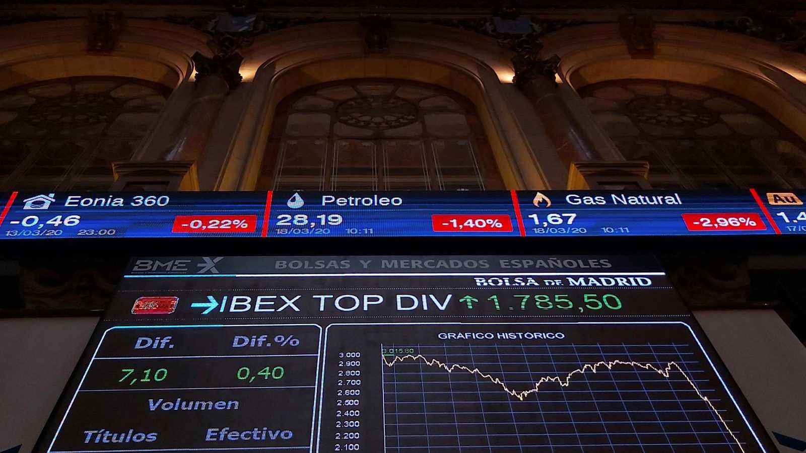 La Bolsa española ha abierto la sesión de este miércoles con una caída de más del 2 %