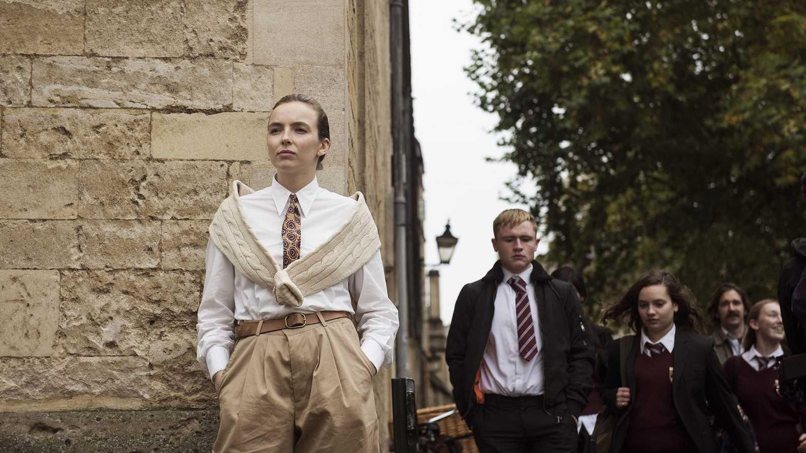 El personaje de Villanelle se expresa en todas sus facetas a través de la ropa