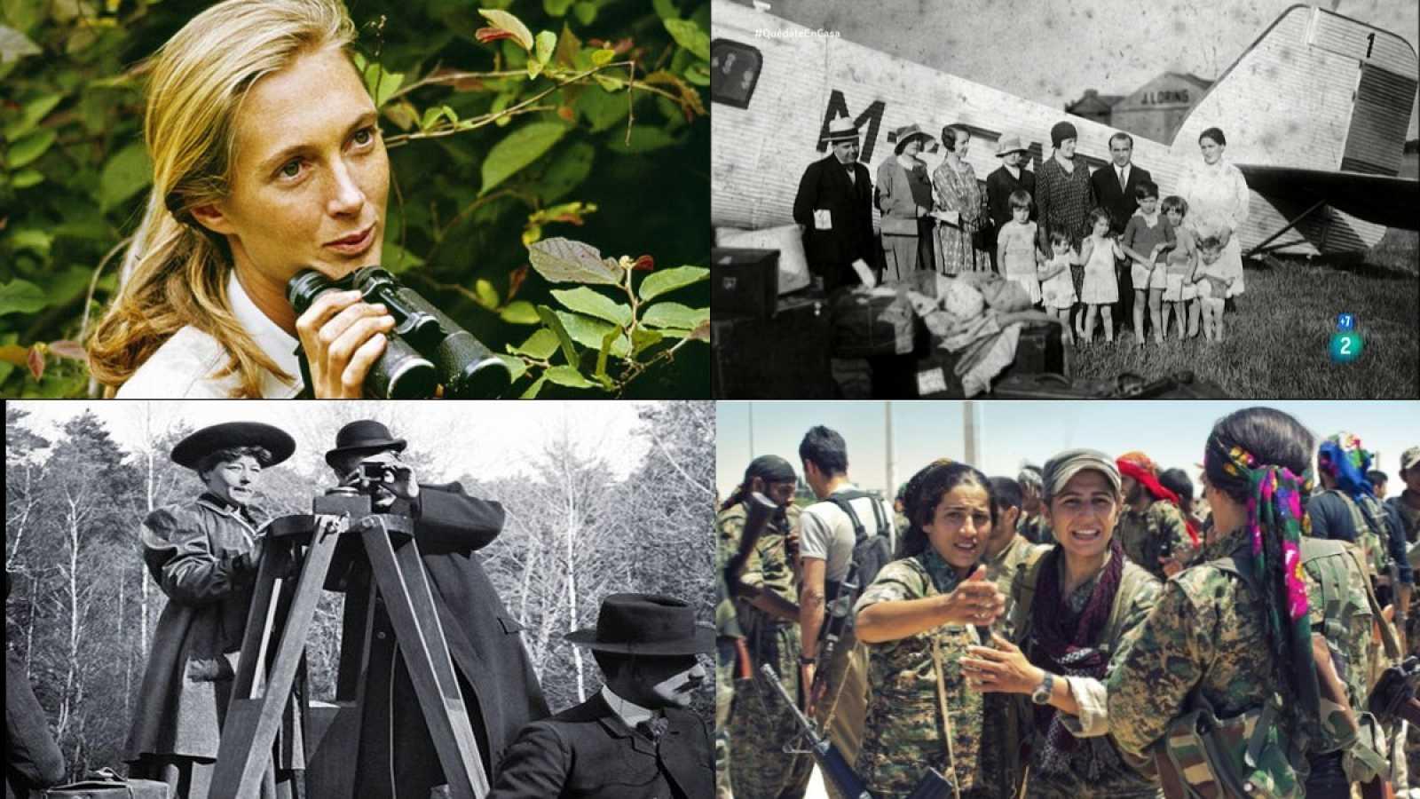En la web de documentales de La 2 existe un enlace permanente a las biografías que se emiten en la cadena