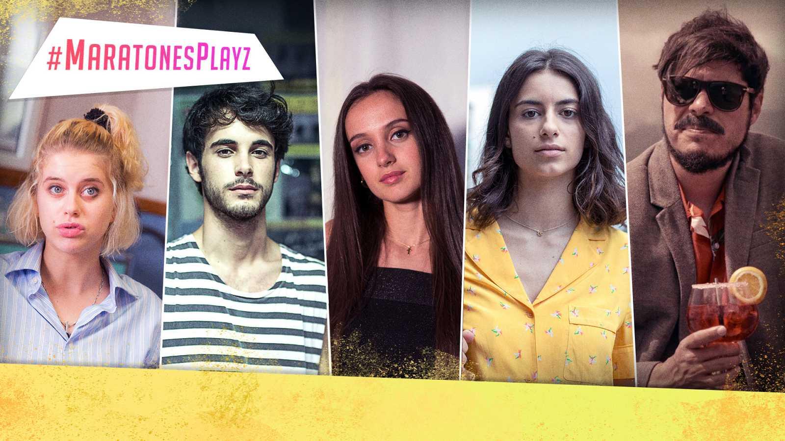 Únete a las #MaratonesPlayz y comenta en directo las mejores series de Playz