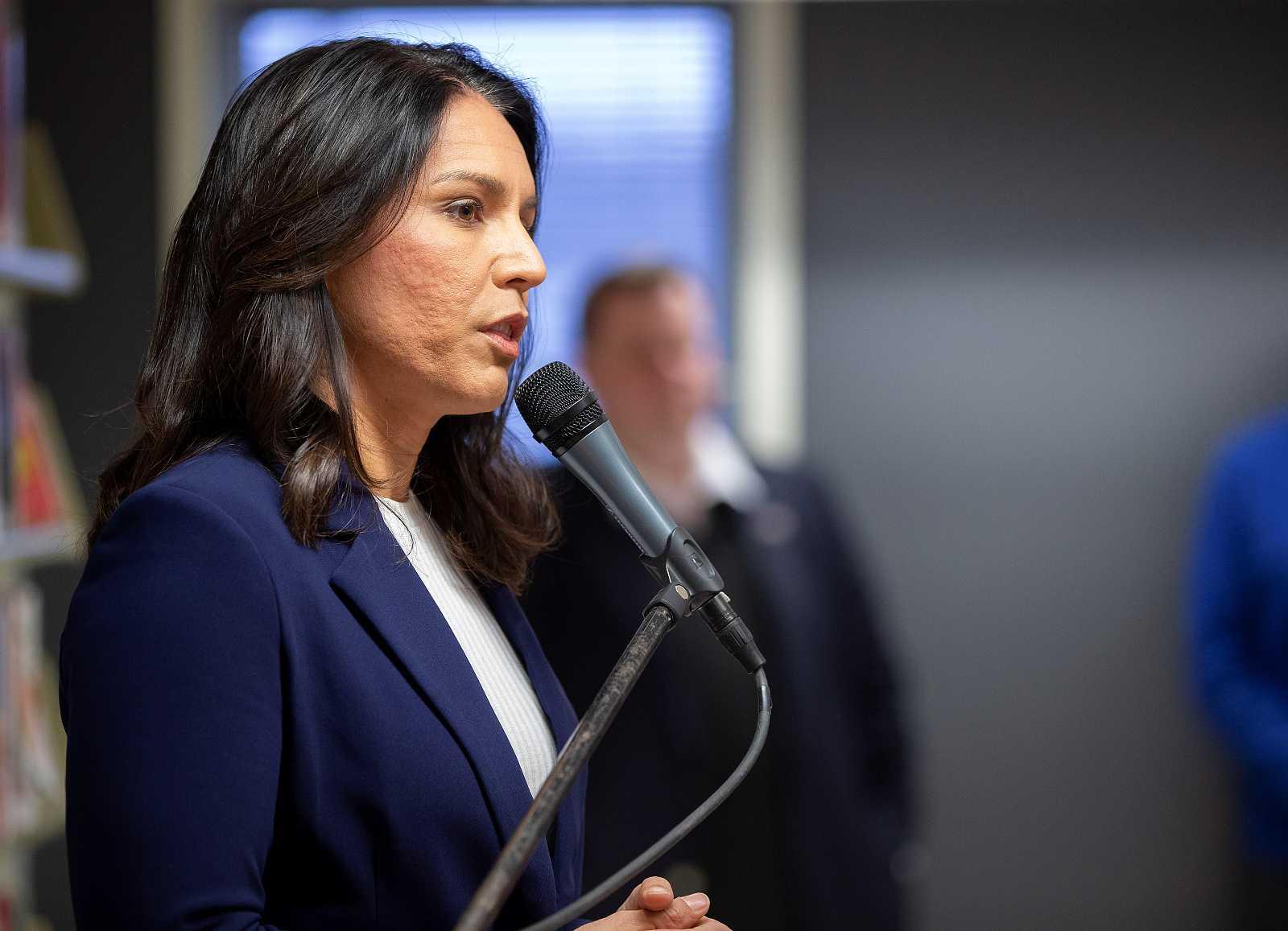 Fotografía de archivo del 21 de marzo de 2019 que muestra a la congresista demócrata por Hawai, Tulsi Gabbard.