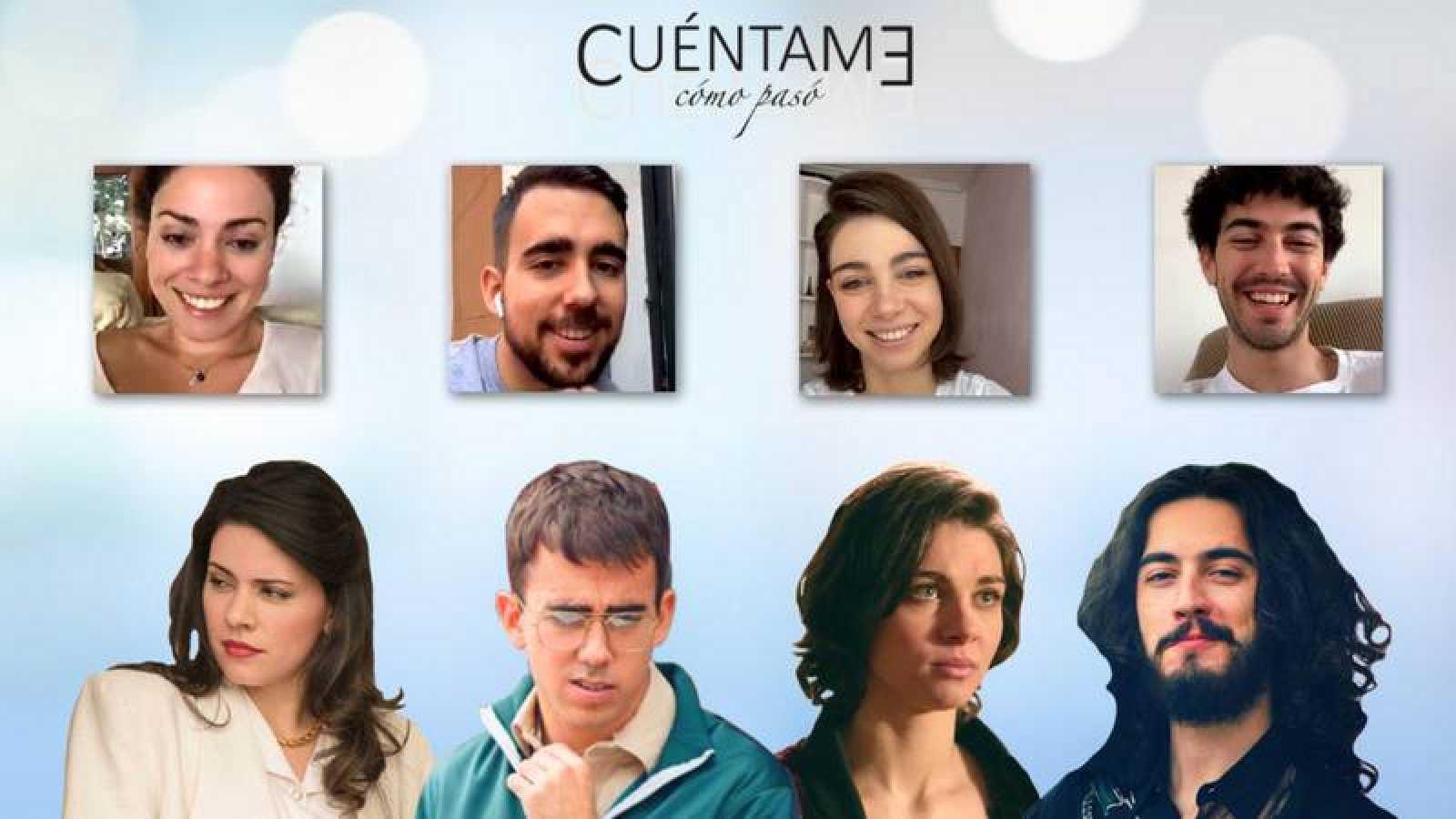 Los protagonistas de 'Cuéntame cómo pasó' en el Instagram Live de RTVE