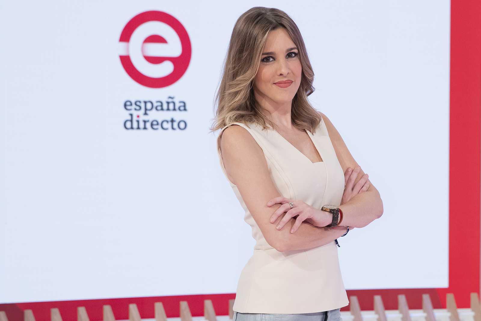 Ana Ibáñez, presentadora de 'España Directo'