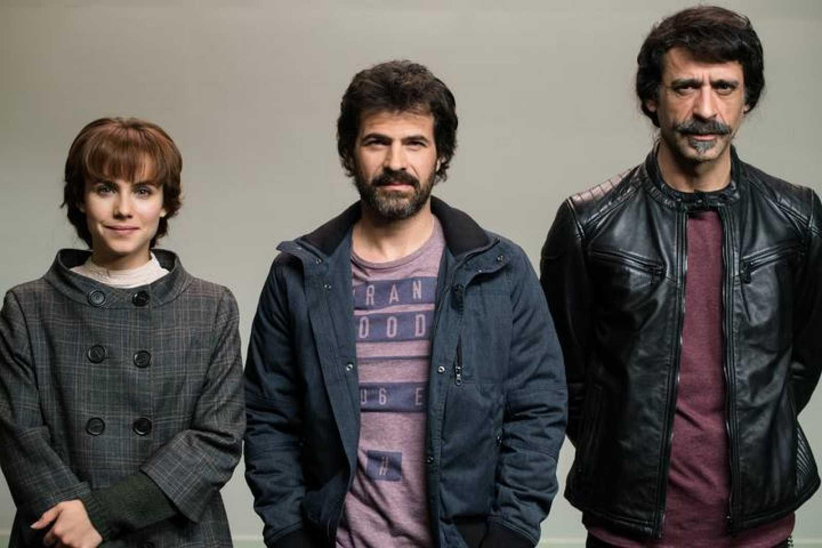 Amelia, Julián y Alonso, la primera patrulla de El Ministerio del Tiempo