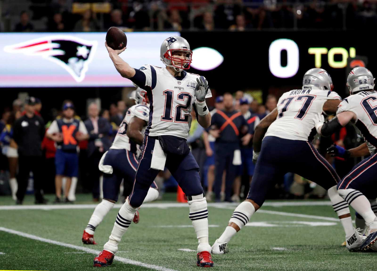 Tom Brady, en imagen de archivo con los New England Patriots