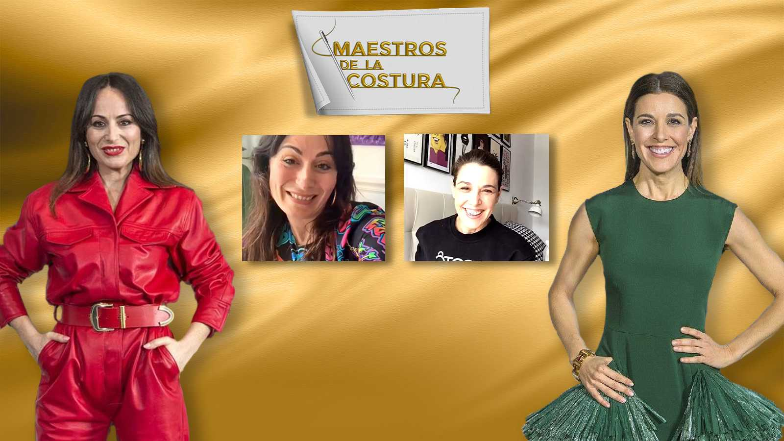 María Escoté y Raquel Sánchez-Silva charlan en el IGTV de RTVE