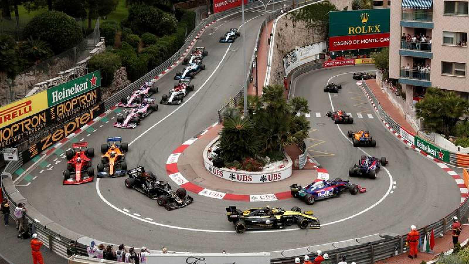 Imagen de archivo del GP de Mónaco de F1.