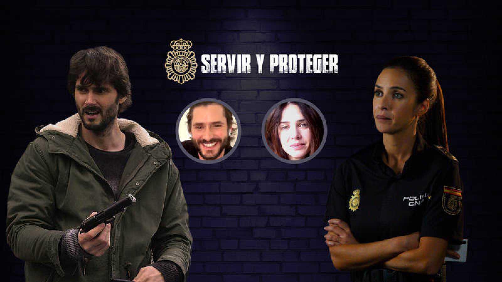 Sergio Mur y Paula Prendes charlan en el canal de IGTV de RTVE