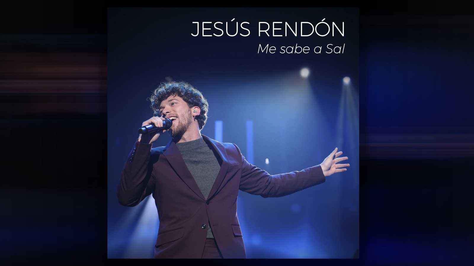 "Portada del primer single de Jesús, ""Sabor a sal"""