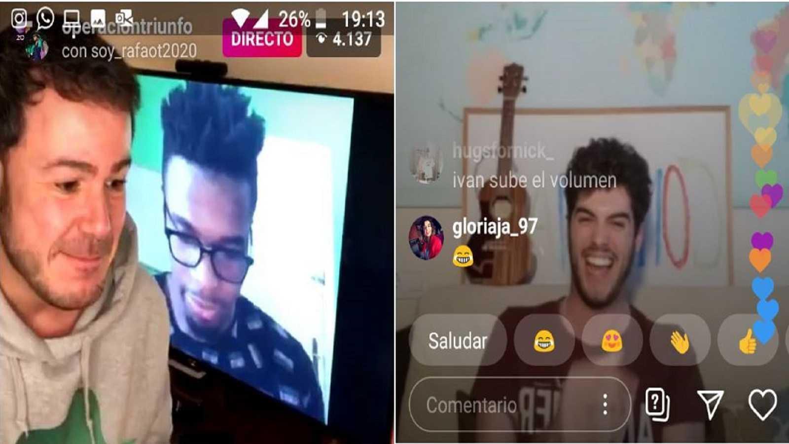 "Imagen del segundo programa de ""Confina2"" de Rafa Romera e Ivan Labanda en Instagram"