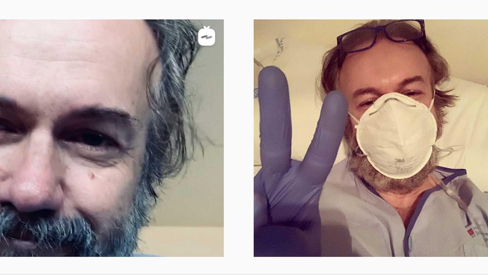 Tristán Ulloa ha contado en su perfil de Instagram su ingreso y alta por coronavirus en un hospital de Madrid