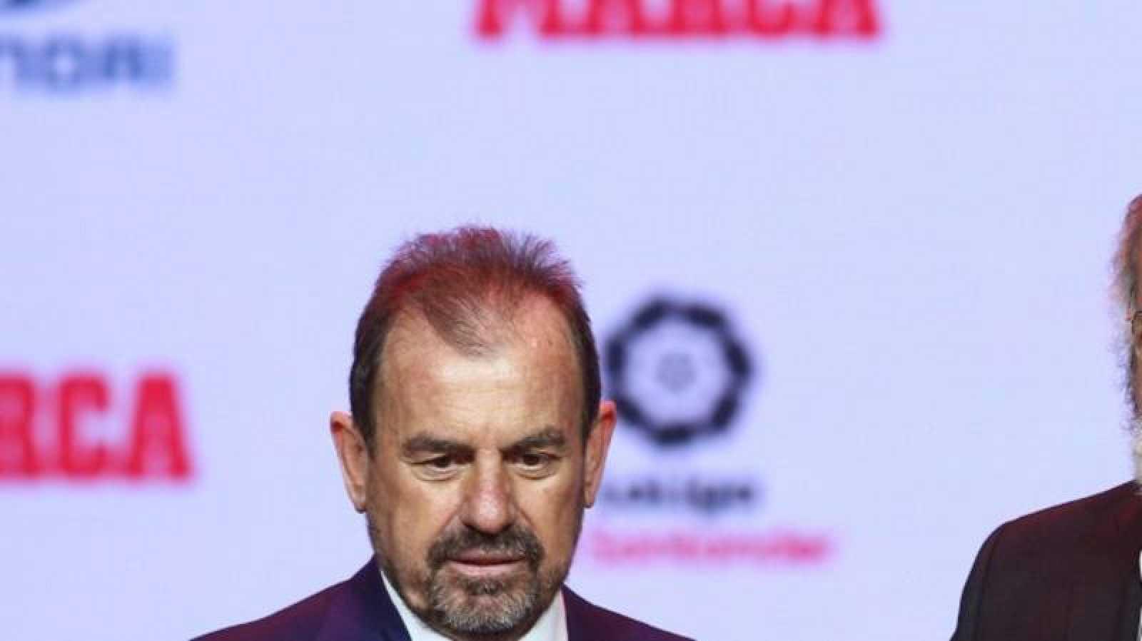Imagen de archivo del presidente del Getafe Ángel Torres.