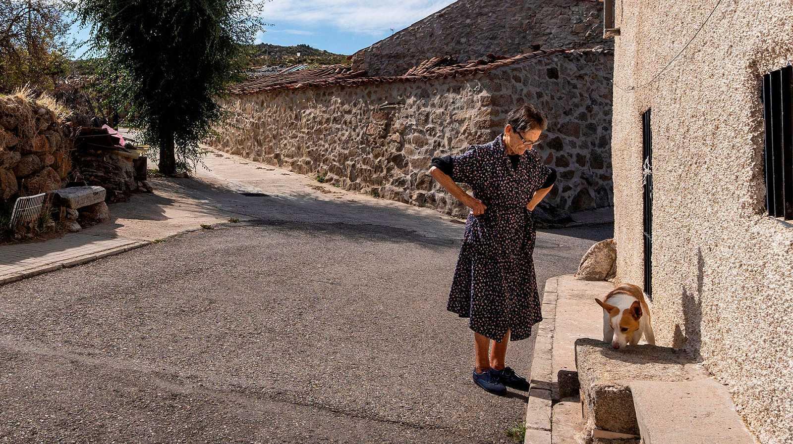 Vecinos de pequeñas localidades de Soria o Teruel se sienten más vulnerables en esta crisis del coronavirus.