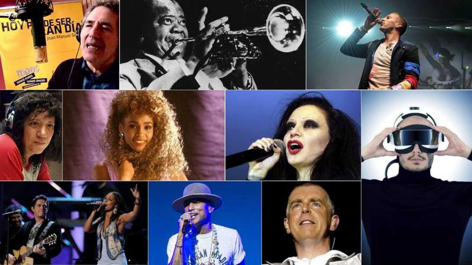 Motívate con canciones de Rosana, Fangoria, Coldplay y Pet Shop Boys, entre otros.