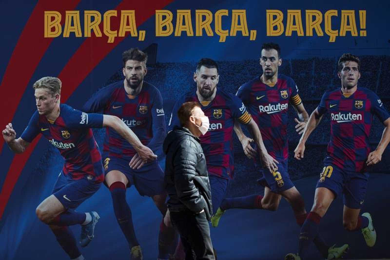 Coronavirus En El Deporte El Fc Barcelona Presenta El Primer Erte