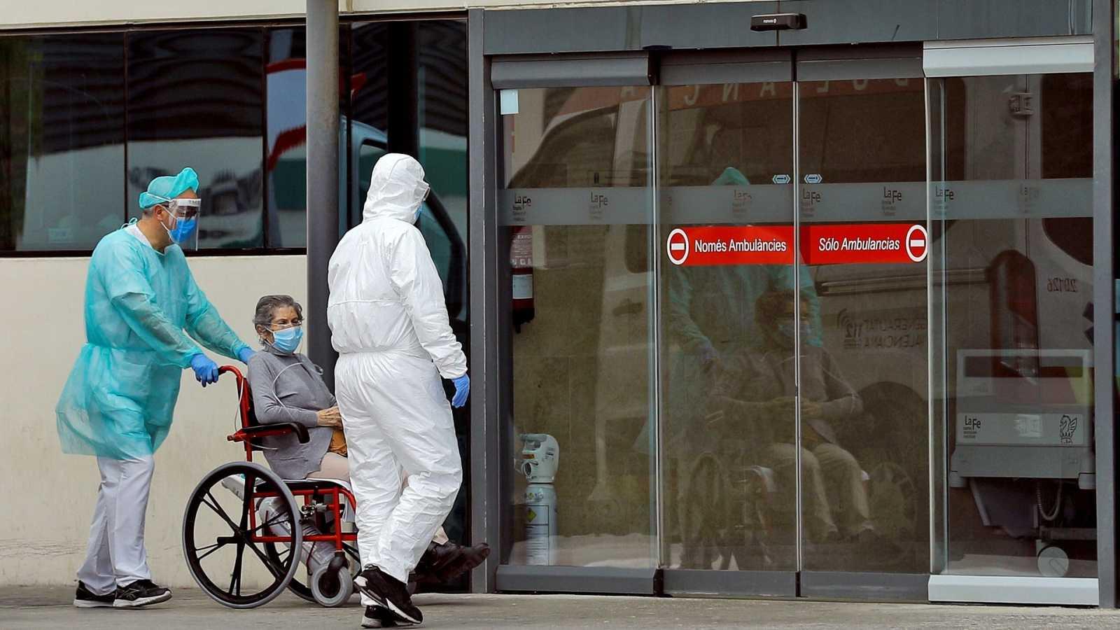Los hospitales, uno de los lugares de mayor incidencia del coronavirus, serán destinos prioritarios para los test rápidos.