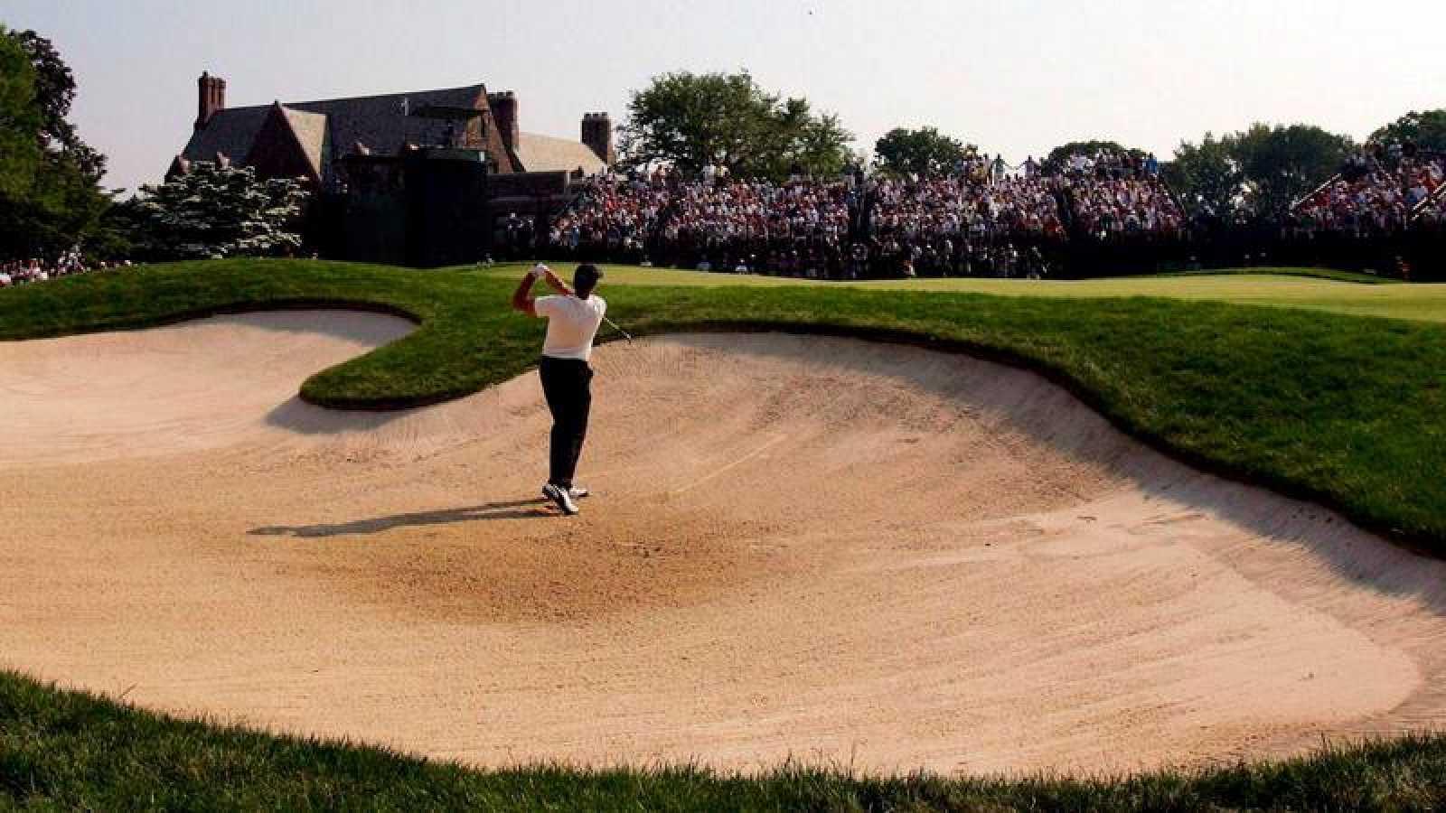 Imagen de archivo del Abierto británico de golf.