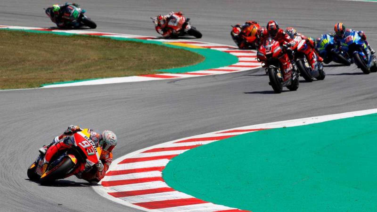 El GP de Catalunya de MotoGP, cancelado por el coronavirus.