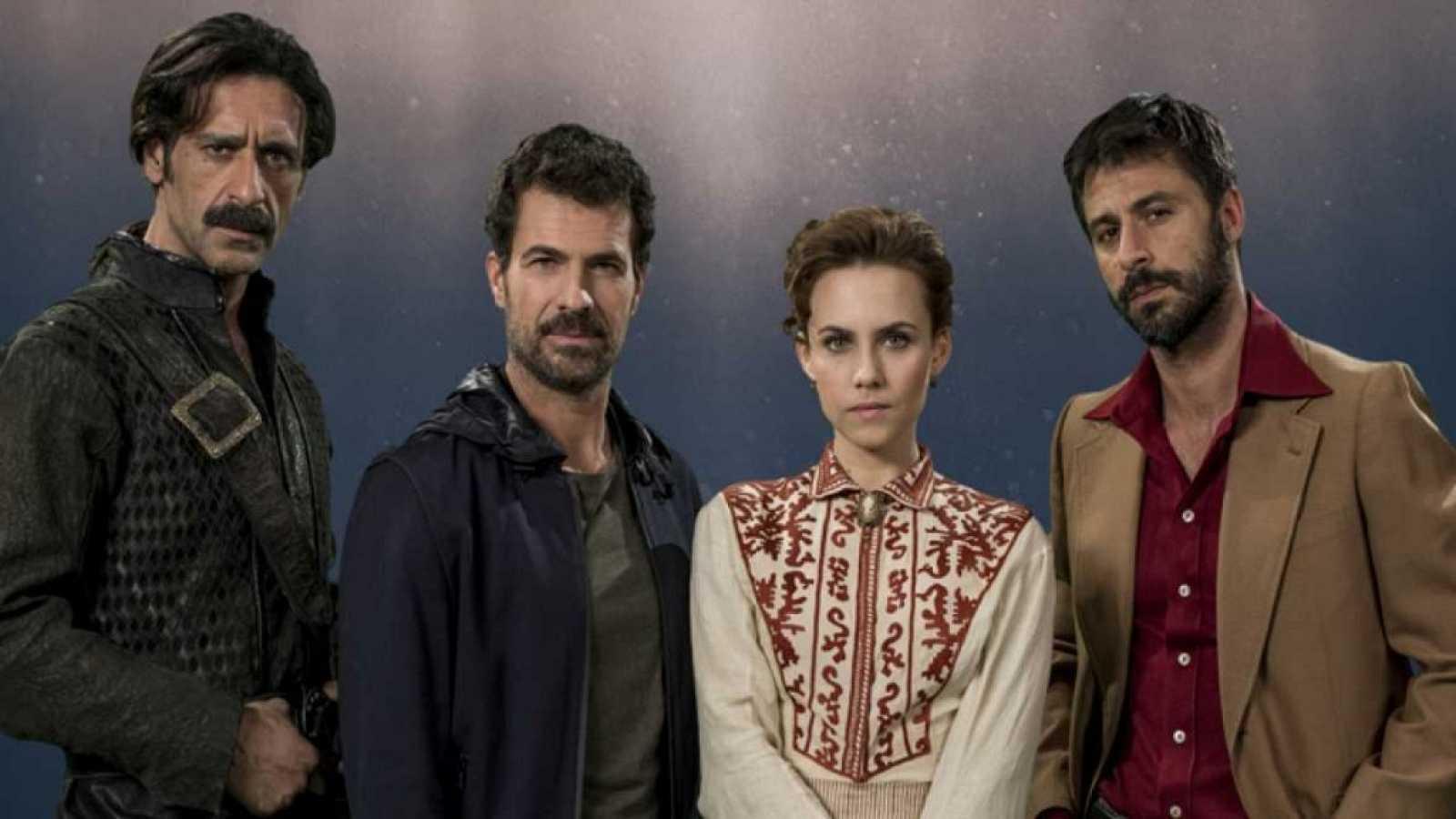 La patrulla de la segunda temporada de 'El Ministerio del Tiempo'