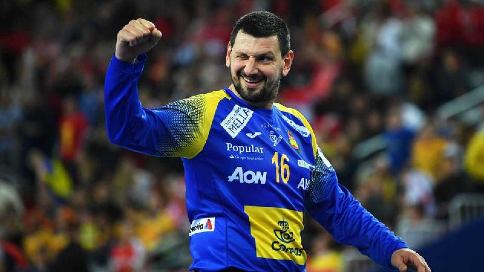 Arpad Sterbik, exportero de la selección española.
