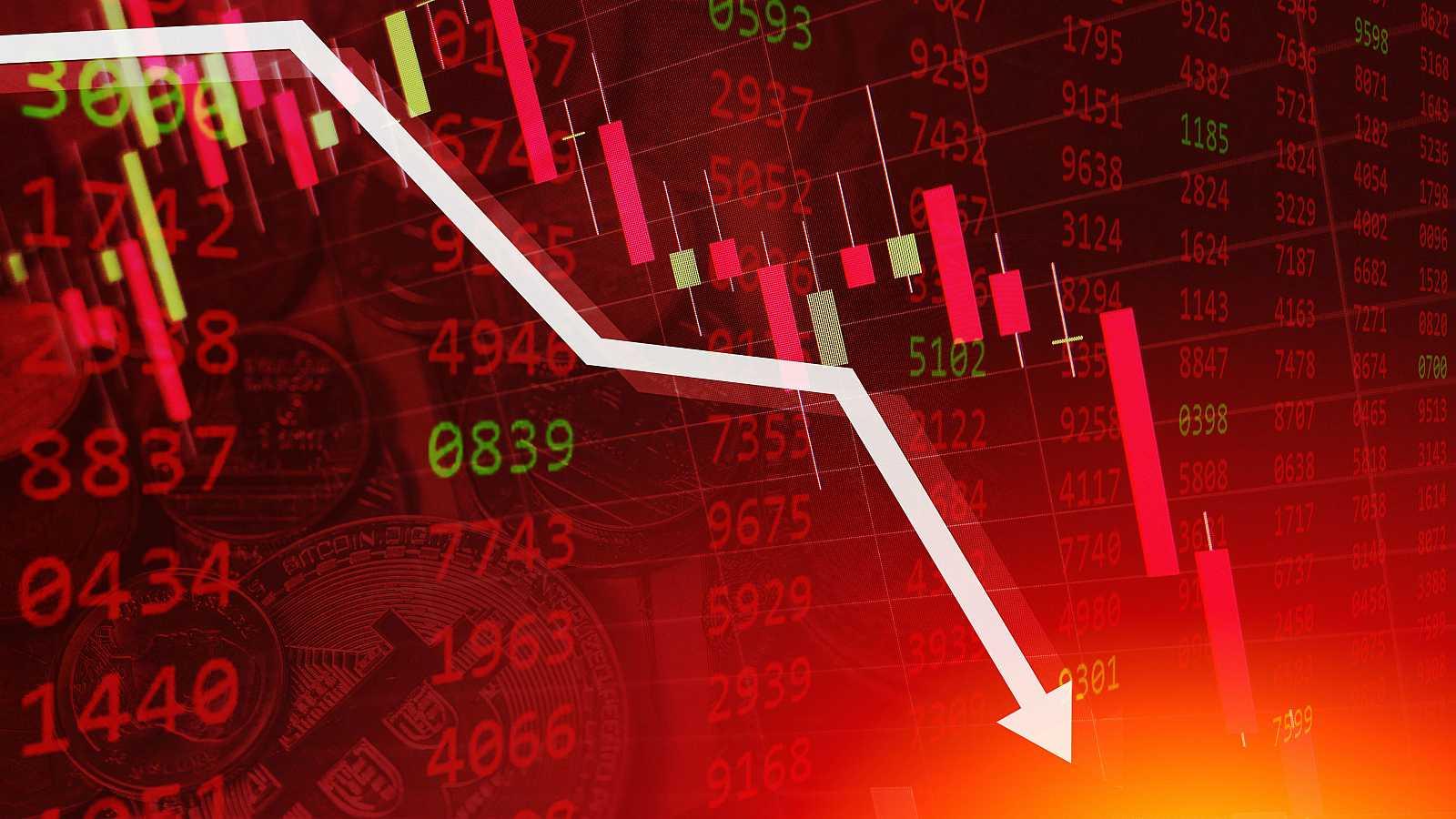 La bolsa española baja un 0,72 % y se aleja de los 7.000 puntos
